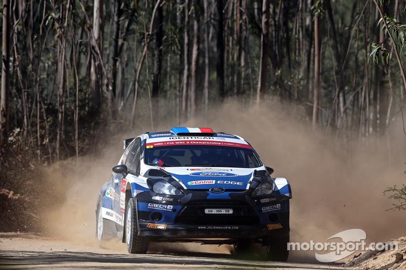 Julien Maurin und Nicolas Klinger, Ford Fiesta RRC