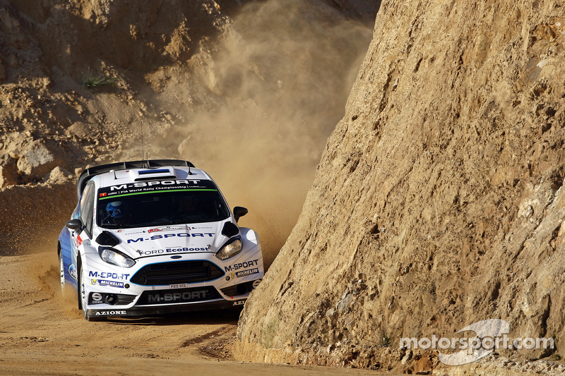 Ott Tanak and Molder Raigo, Ford Fiesta R5 M-Sport World Rally Team