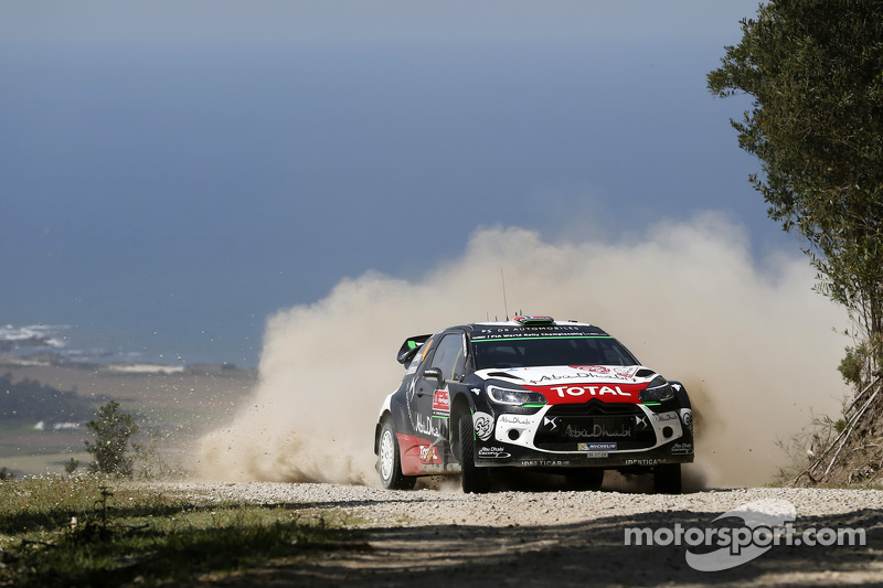 Mads Ostberg und Jonas Andersson, Citroën DS3 WRC, Citroën World Rally Team