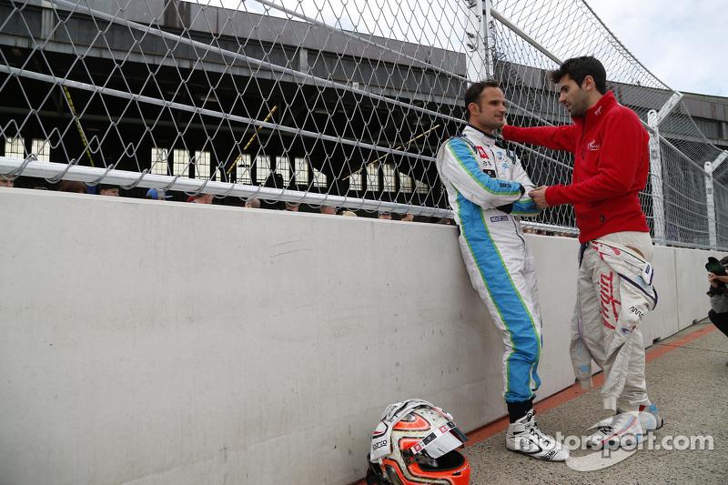 Vitantonio Liuzzi, Trulli GP, e Jaime Alguersuari, Virgin Racing