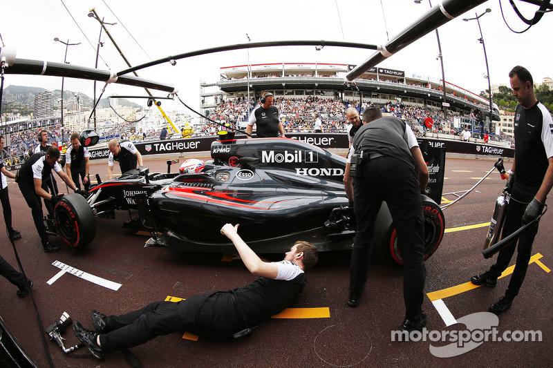 Jenson Button, McLaren MP4-30 Honda