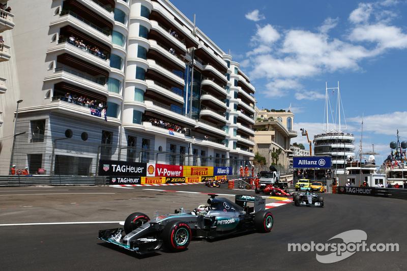 Lewis Hamilton, Mercedes AMG F1, vor dem Start