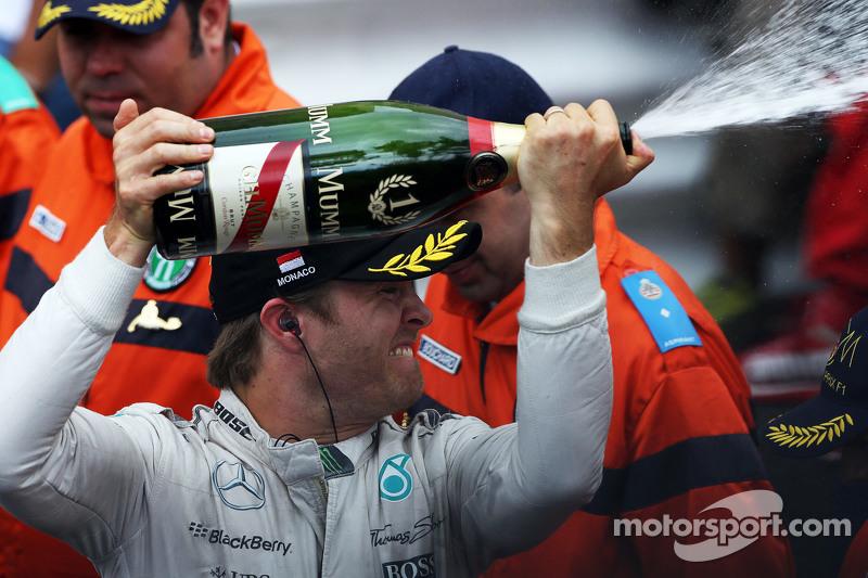 Pemenang balapan, Nico Rosberg, Mercedes AMG F1