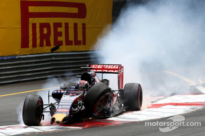 GP Mónaco 2015. Brutal impacto en Santa Devota