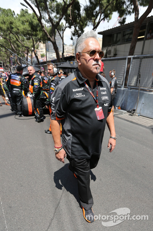 Vijay Mallya, proprietario della Sahara Force India
