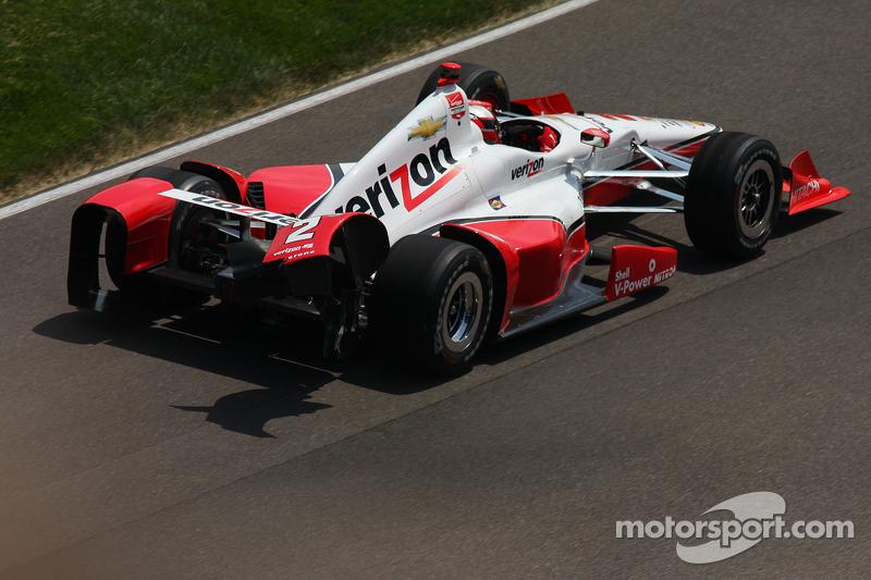 Schäden bei Juan Pablo Montoya, Team Penske, Chevrolet