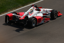Damages Juan Pablo Montoya, Team Penske Chevrolet