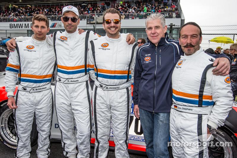 #70 Teichmann Racing, Porsche 997 GT3 Cup: Dominik Brinkmann, Alex Autumm, Marc Hennerici, Don Stephano