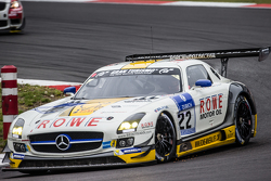 #22 Rowe Racing Mercedes-Benz SLS AMG GT3: Маро Енгел, Jan Seyffarth, Ренгер ван дер Занде, Томас Ягер