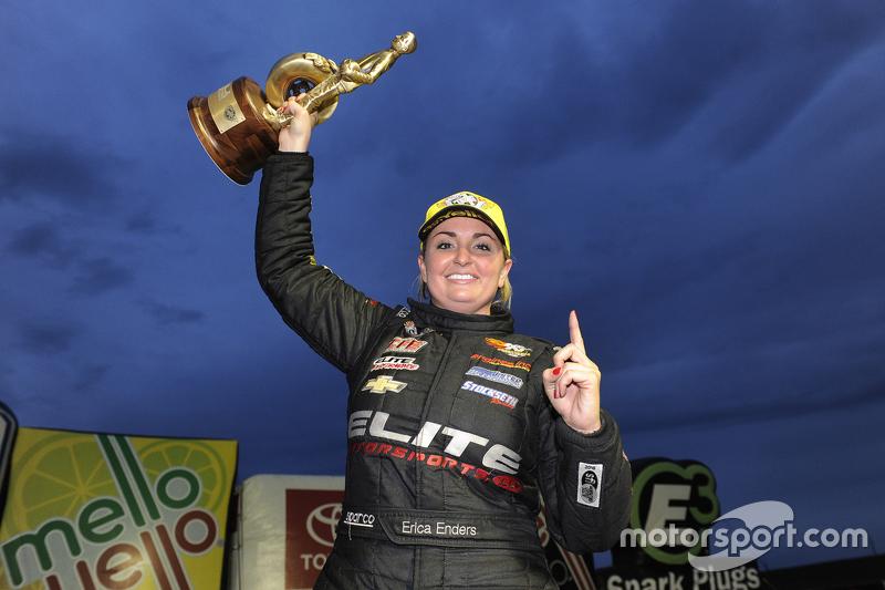 Pro Stock winner Erica Enders-Stevens
