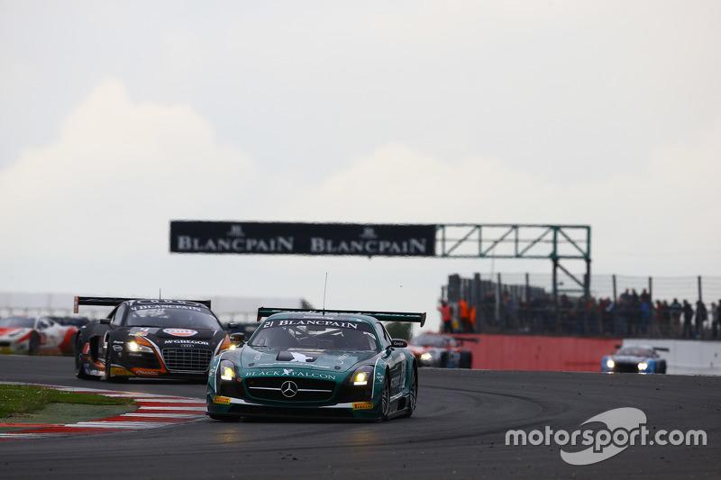 #21 Black Falcon, Mercedes SLS AMG GT3: Hupert Haupt, Abdulaziz Al Faisal, Yelmer Buurman