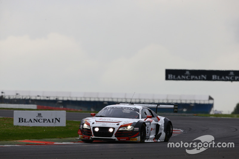 #6 Phoenix Racing Audi R8 LMS: Shaun Thong, Marchy Lee, Маркус Вінкелхок