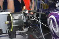Red Bull RB11 rear suspension detail