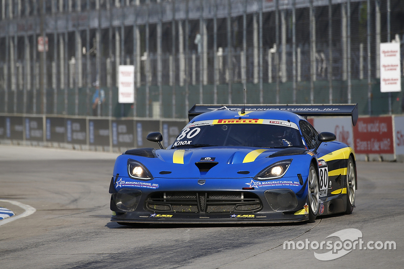 #80 Lone Star Racing, SRT Viper GT3R: Dan Knox