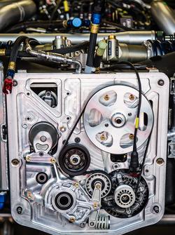 #22 Nissan Motorsports detail depan Nissan GT-R LM NISMO