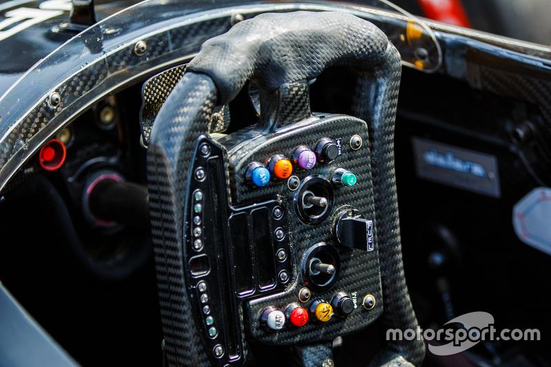 IndyCar steering wheel