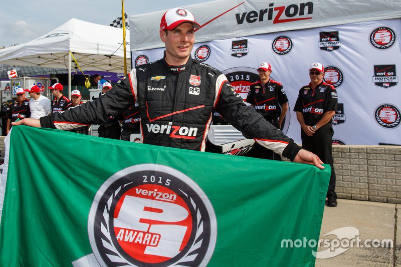 Pole-Sitter: Will Power, Team Penske, Chevrolet