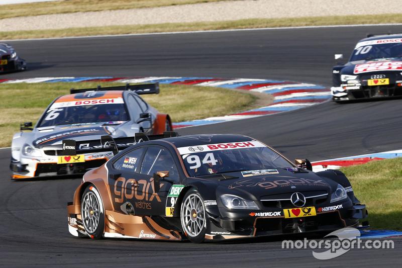 Pascal Wehrlein, Mercedes-AMG C 63 DTM, und Robert Wickens, Mercedes-AMG C 63 DTM