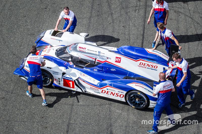 #1 Toyota Racing, Toyota TS040 Hybrid