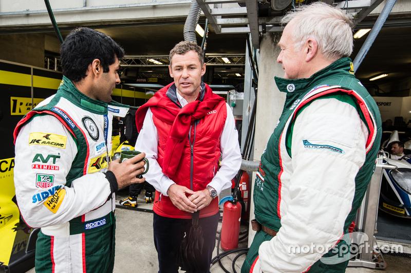 Karun Chandhok and Tom Kristensen