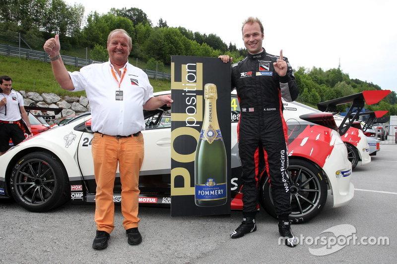 Kevin Gleason, Honda Civic TCR, West Coast Racing, Pole-Position