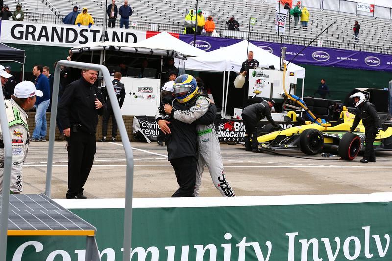 1. Sébastien Bourdais, KV Racing Technology