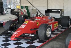 A historic Grand Prix car