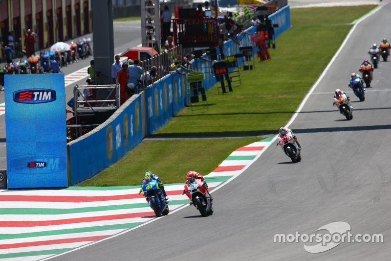 Michele Pirro, Ducati Team, und Aleix Espargaro, Team Suzuki MotoGP