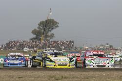 Omar Martinez, Martinez Competicion, Ford; Juan Pablo Gianini, JPG Racing, Ford, und Matias Rodrigue