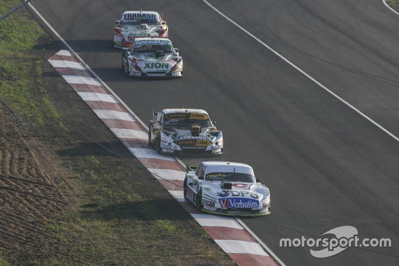 Leonel Sotro, Alifraco Sport, Ford; Leonel Pernia, Las Toscas Racing, Chevrolet; Norberto Fontana, L