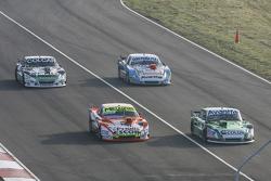 Jose Manuel Urcera, JP Racing Torino and Jonatan Castellano, Castellano Power Team Dodge and Gaston