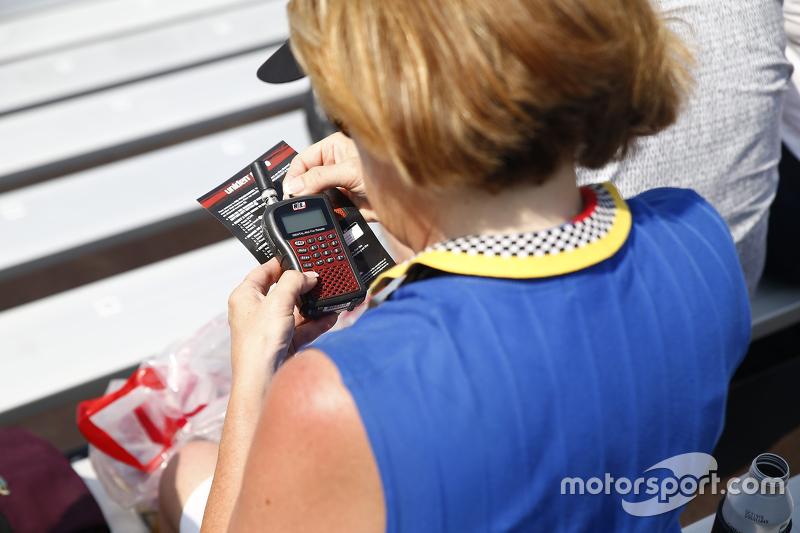 Fan mit elektrischem Fanradio