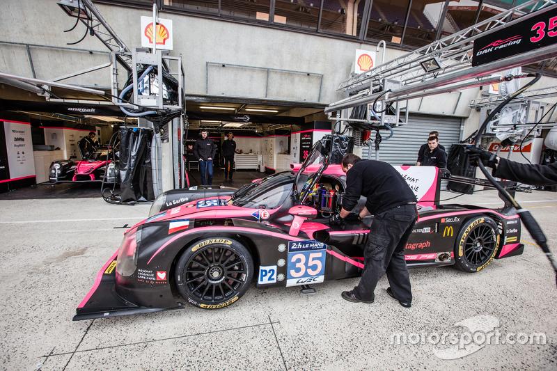 #35 OAK Racing, Ligier JS P2: Kevin Estre, Gustavo Yacaman