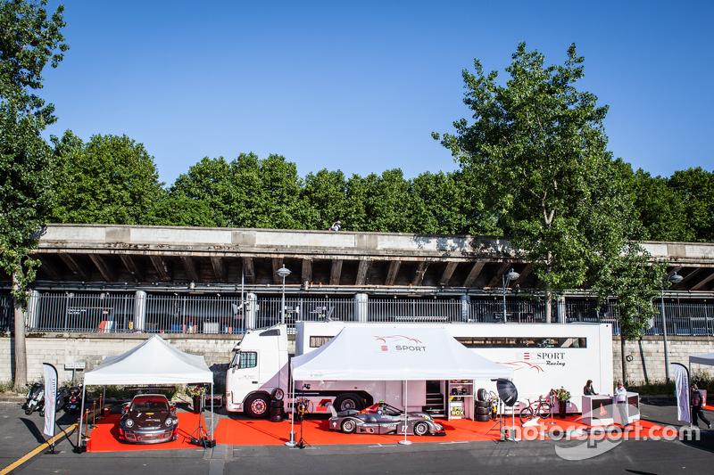 Gesamtbild der Präsentation von IDEC Sport Racing