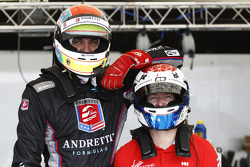 Justin Wilson, Andretti Autosport e Sam Bird, Virgin Racing