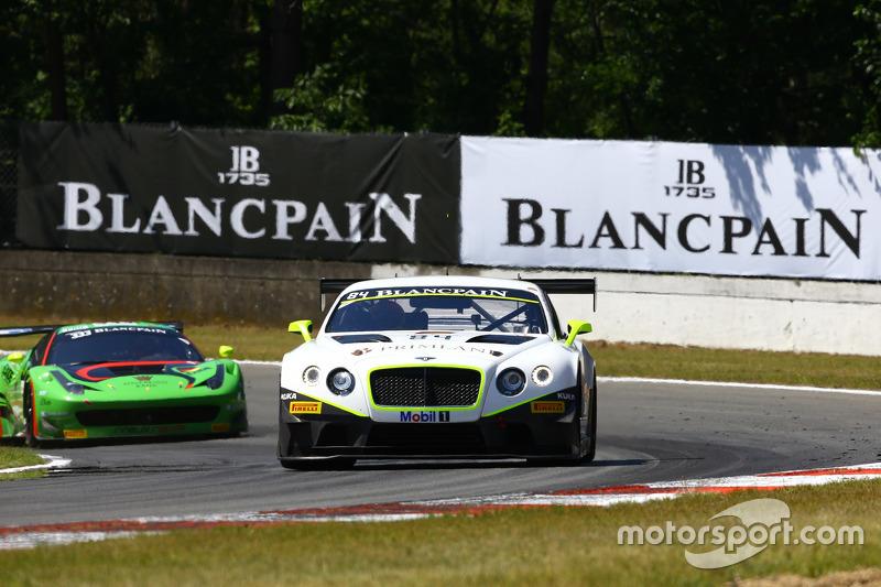 #84 Bentley Team HTP Bentley Continental GT3: Maximilian Buhk, Vincent Abril