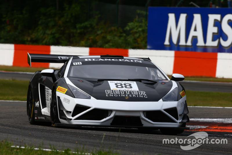 #88 Reiter Engineering Lamborghini Gallardo LP560-4 R-EX: Albert von Thurn und Taxis, Peter Kox