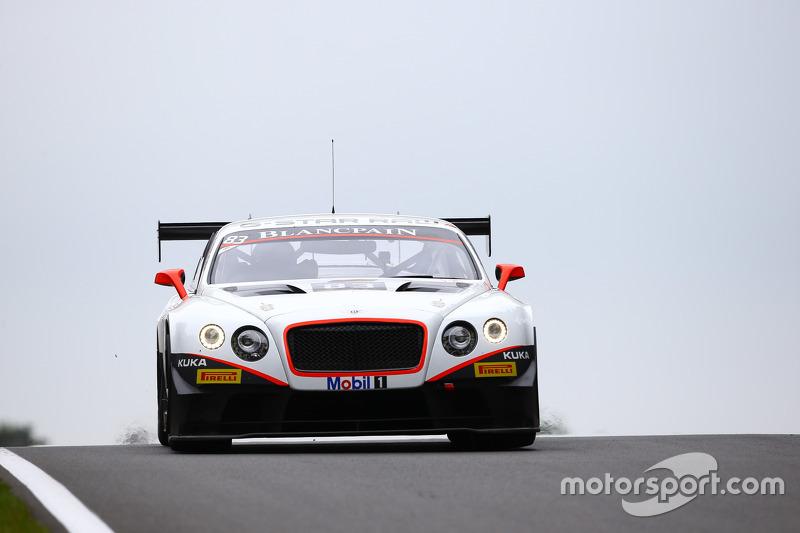 #83 Bentley Team HTP, Bentley Continental GT3: Tom Dillman, Jules Szymkowiak