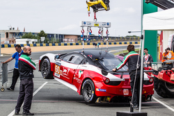 #60 Formula Racing Ferrari 458 GTE lift test