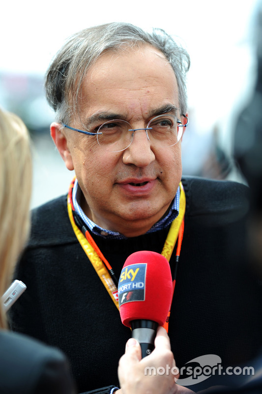 Sergio Marchionne, Président de Ferrari et CEO de Fiat Chrysler Automobiles