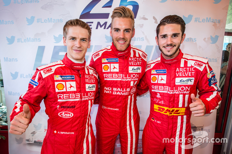 Rebellion Racing: Alexandré Imperatori, Dominik Kraihamer, Daniel Abt