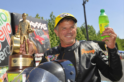 Pro Stock Bike winner Jerry Savoie