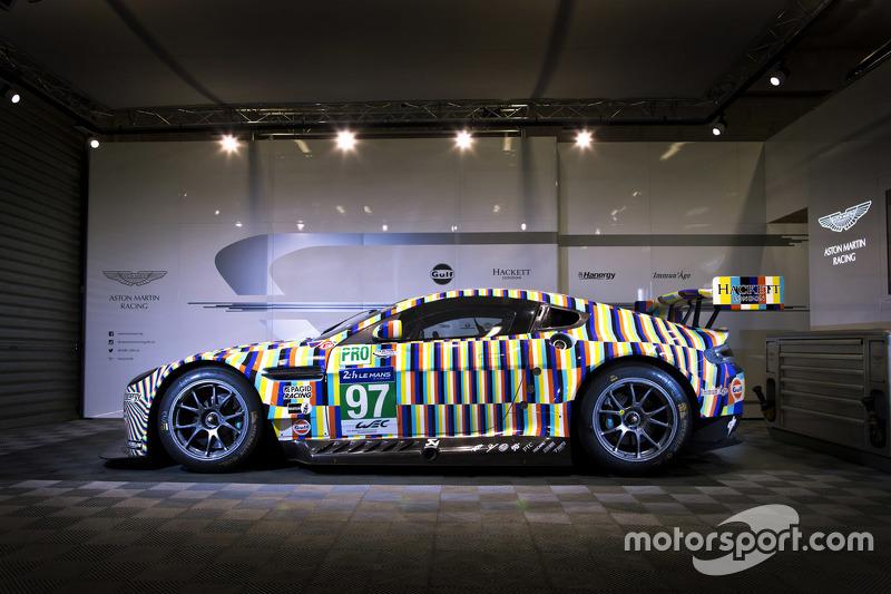 #97 Vantage GTE Art-Car, designt von Tobias Rehberger