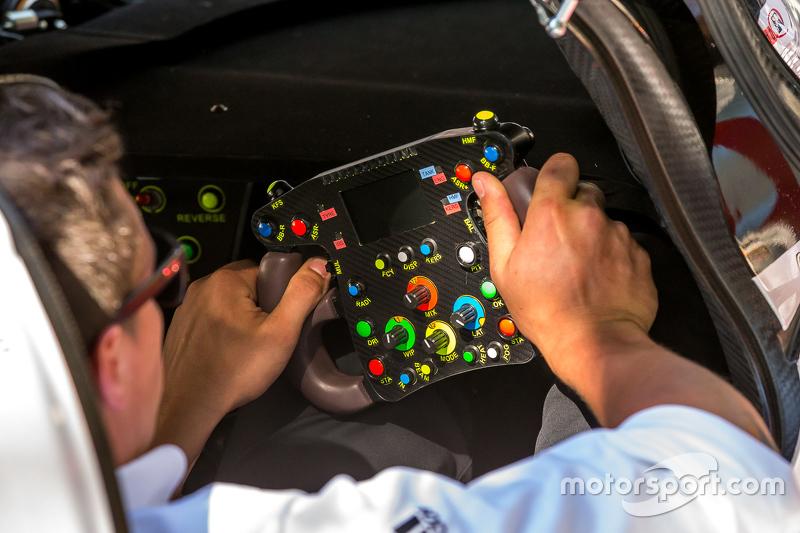 #9 Audi Sport Team Joest Audi R18 e-tron quattro steering wheel