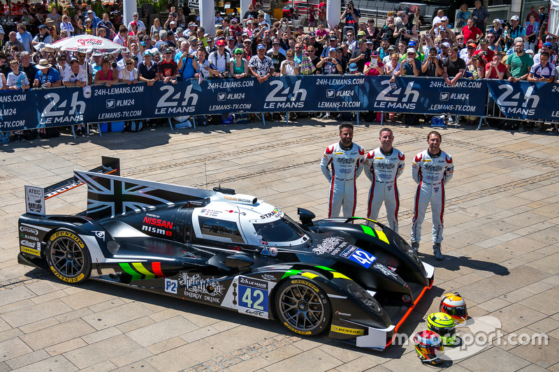 #42 Strakka Racing, Strakka-Dome S103: Nick Leventis, Jonny Kane, Danny Watts