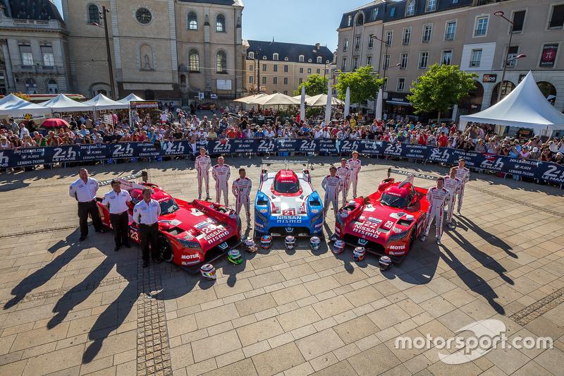 Экипажи команды Nissan Motorsports