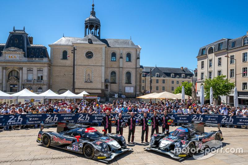 #30 Extreme Speed Motorsports, Ligier JS P2: Scott Sharp, David Heinemeier Hansson, Ryan Dalziel und