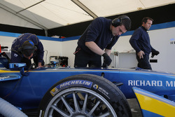e.dams-Renault Formula E, Teambereich