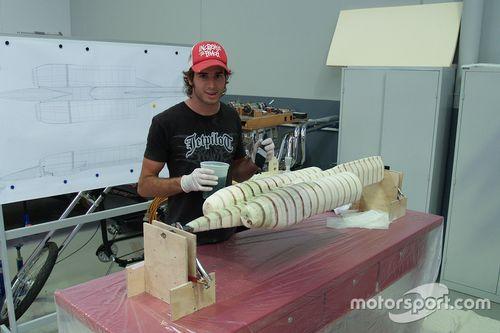 Rick Kelly's straalmotor aangedreven RC-auto