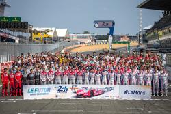 24 Stunden von Le Mans 2015: Fahrerfoto